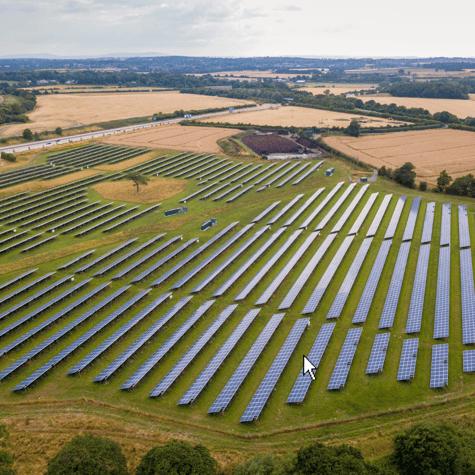 Solar Power Farms