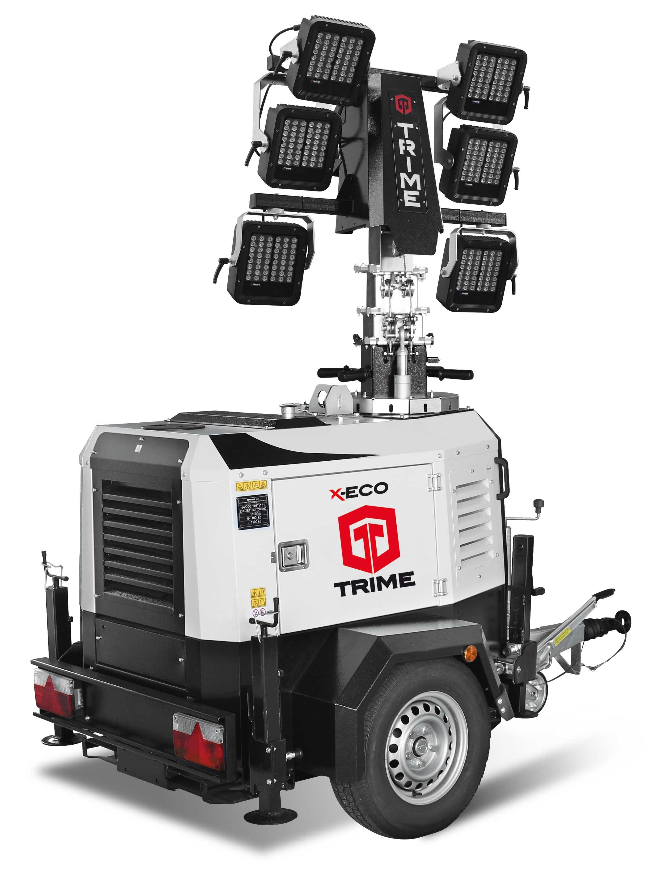 X-Eco - NEW TRIME LED HEADS